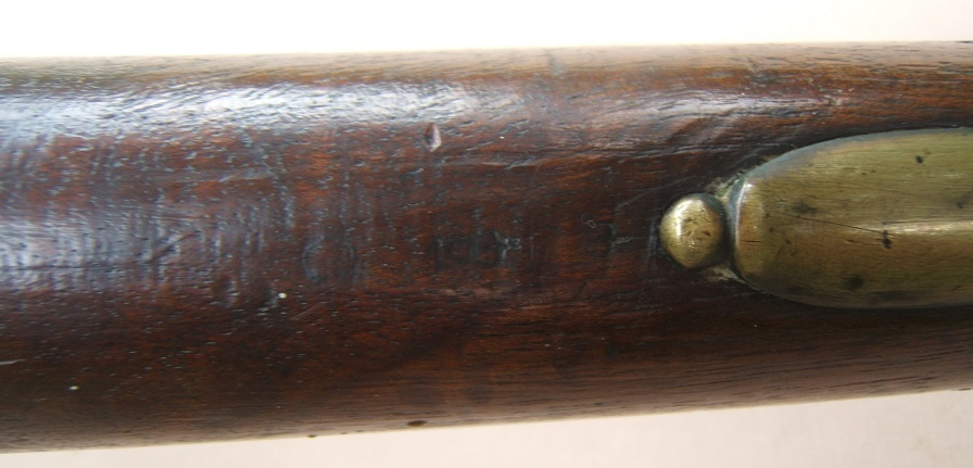 "A FINE & VERY RARE FLORIDA & GEORGIA USED REVOLUTIONARY WAR REGIMENTALLY MARKED ""16th REGIMENT"" OF FOOT SECOND MODEL/SHORTLAND PATTERN 1777 BROWN BESS MUSKET, ca. 1778/9 view 5"