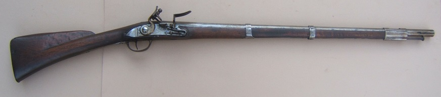 A SCARCE FRENCH & INDIAN/AMERICAN REVOLUTIONARY WAR PERIOD FRENCH MODEL 1728 CARBINE, ca. 1730 view 1