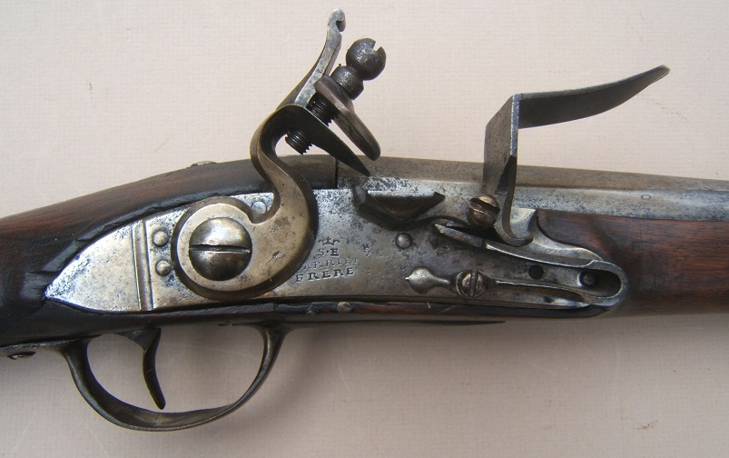 A SCARCE FRENCH & INDIAN/AMERICAN REVOLUTIONARY WAR PERIOD FRENCH MODEL 1728 CARBINE, ca. 1730view 3