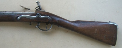 "A FINE COLONIAL/AMERICAN REVOLUTIONARY WAR PERIOD DUTCH-GERMANIC TYPE FLINTLOCK MUSKET, by ""AUBERT"", ca. 1750 view 2"