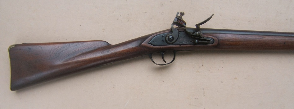 "A FINE & RARE US MODEL 1807 SPRINGFIELD ""INDIAN CARBINE"", Dtd. 1808 view 4"