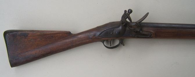 A VERY GOOD WAR OF 1812/NAPOLEONIC PERIOD (P. 1809) THIRD MODEL BROWN BESS MUSKET, ca. 1810 view 1