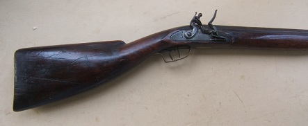 A FINE EARLY 19th CENTURY NEW ENGLAND CLUB-BUTT FOWLER/MARKET GUN, ca. 1815 view 1