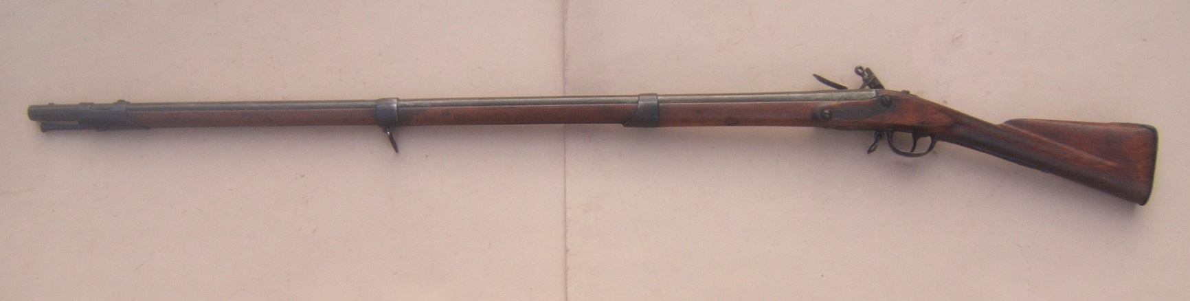 A VERY GOOD WAR of 1812 PERIOD US MODEL 1795/8 CONTRACT MUSKET, ca. 1798 view 2