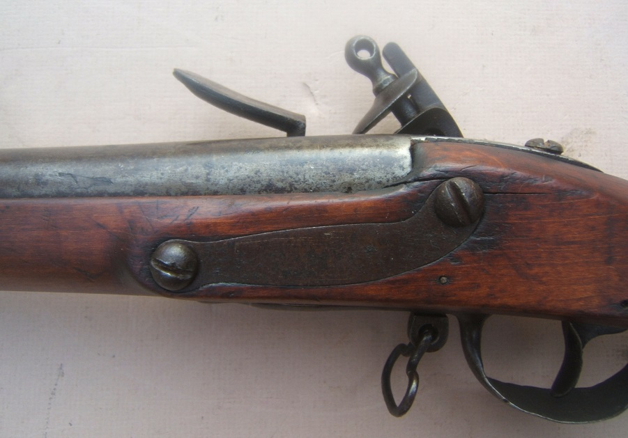 A VERY GOOD WAR of 1812 PERIOD US MODEL 1795/8 CONTRACT MUSKET, ca. 1798 view 6