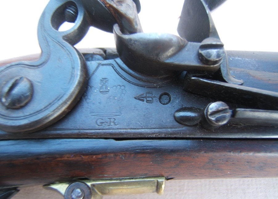 A VERY RARE EARLY NAPOLEONIC WAR PERIOD (P. 1805) ENGLISH FLINTLOCK