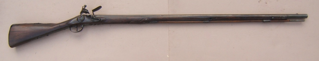 A VERY FINE & EARLY COLONIAL/AMERICAN REVOLUTIONARY WAR PERIOD DUTCH MUSKET, ca. 1710-1720 view 1