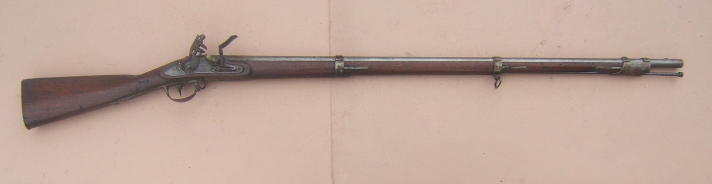 "US MODEL 1816 TYPE II CONTRACT MUSKET, by ""L. EVANS"", dtd. 1827 view 1"