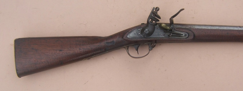 "US MODEL 1816 TYPE II CONTRACT MUSKET, by ""L. EVANS"", dtd. 1827 view 5"