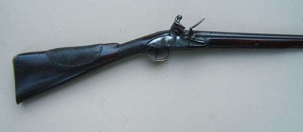 A VERY GOOD GEORGIAN-COLONIAL/FRENCH & INDIAN WAR PERIOD ENGLISH FLINTLOCK FOWLER, by WILLIAM HENSHAW, ca. 1750 view 1