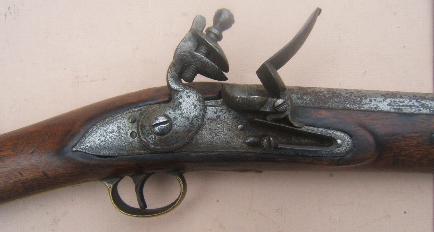 A VERY GOOD WAR of 1812/NAPOLEONIC PERIOD PAGET-TYPE ENGLISH FLINTLOCK CAVALRY CARBINE, ca. 1815 view 3
