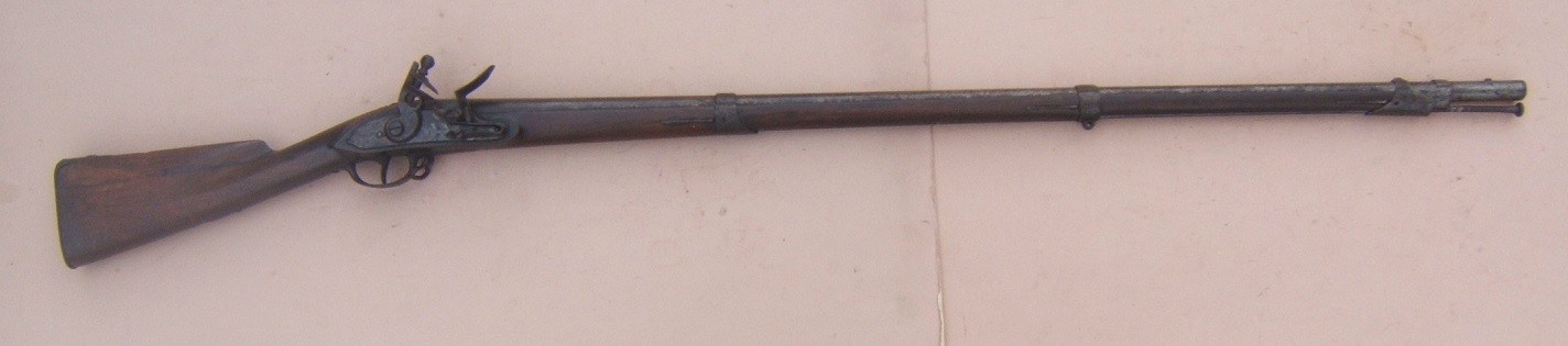 "A FINE & UNTOUCHED WAR OF 1812 US MODEL 1808 ""CONTRACT"" MUSKET, BY ""E. STILLMAN"", Dtd. 1812 view 1"