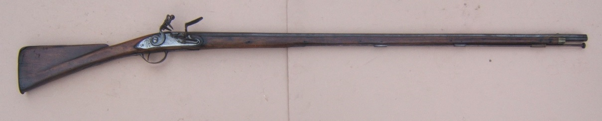 "A FINE & RARE ""US SURCHARGED"" COLONIAL/FRENCH & INDIAN/AMERICAN REVOLUTIONARY WAR PERIOD AMERICAN-MADE MUSKET, ca. 1750 view 1"
