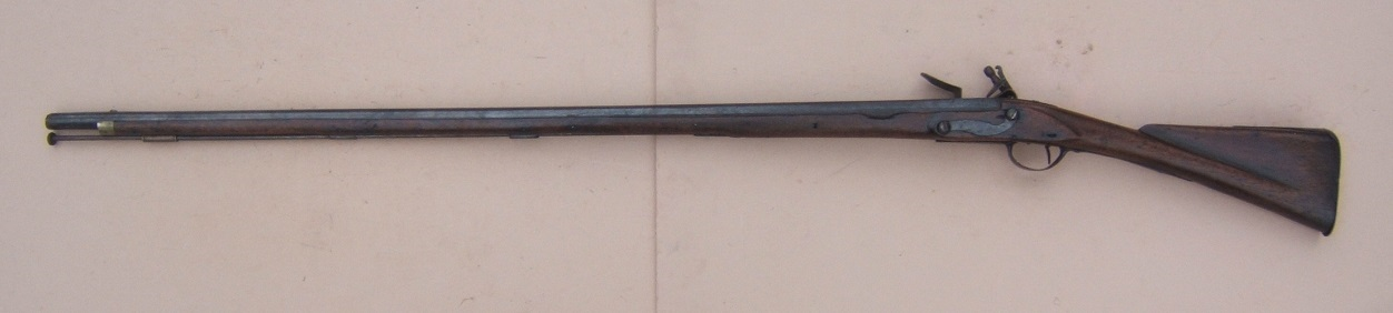 "A FINE & RARE ""US SURCHARGED"" COLONIAL/FRENCH & INDIAN/AMERICAN REVOLUTIONARY WAR PERIOD AMERICAN-MADE MUSKET, ca. 1750 view 2"