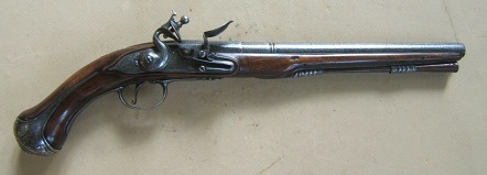 A FINE & RARE 17th CENTURY ENGRAVED STEEL-MOUNTED EARLY COLONIAL PERIOD ENGLISH FLINTLOCK