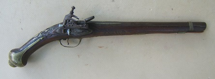 A FINE QUALITY BALKAN (ALBANIAN) MIQUELET HOLSTER PISTOL, ca. 1820-1840view 1