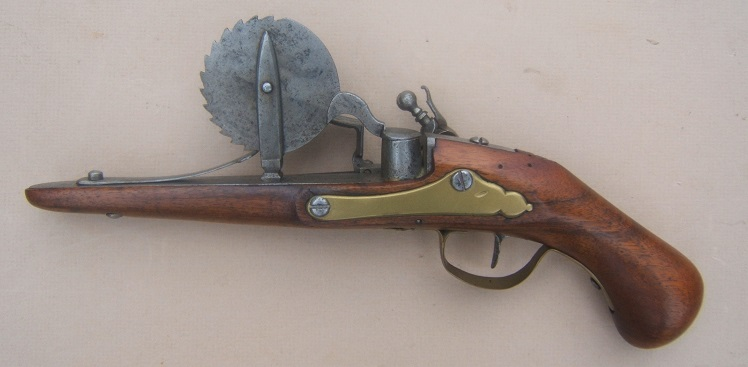 A VERY FINE & RARE FRENCH FLINTLOCK EPROUVETTE/POWDER-TESTER, ca. 1720 view 2