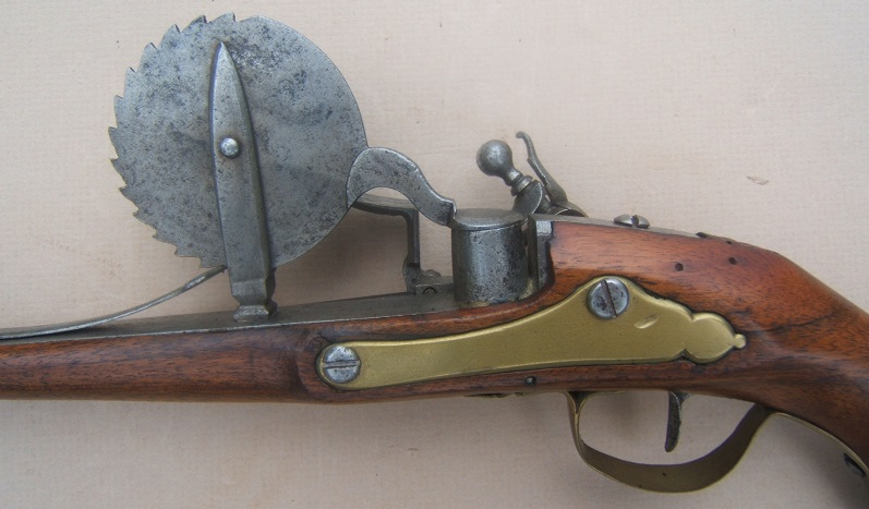 A VERY FINE & RARE FRENCH FLINTLOCK EPROUVETTE/POWDER-TESTER, ca. 1720 view 4
