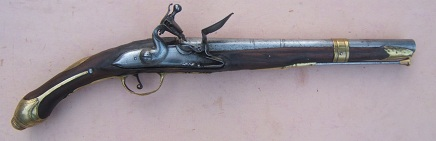 A VERY GOOD QUALITY BALKAN (ALBANIAN) or (GREEK) FLINTLOCK HOLSTER PISTOL, ca. 1780-1820 view 1