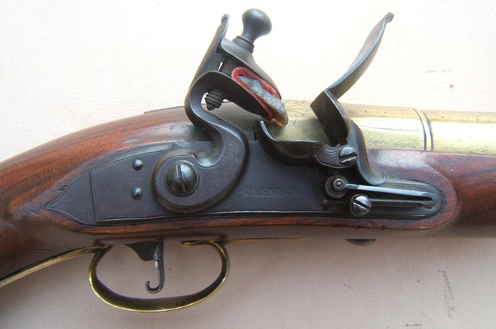 A RARE & UNUSUAL NAPOLEONIC PERIOD ENGLISH FLINTLOCK NAVAL HAND-MORTAR/GRENADE PISTOL, ca. 1810 view 3