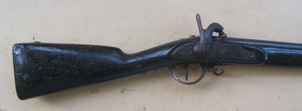 "A VERY GOOD CIVIL WAR PERIOD FRENCH MODEL 1822 ""ARTILLERY CARBINE"", ca. 1850 view 1"