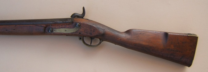 A VERY GOOD CIVIL WAR PERCUSSION CONVERTED PRUSSIAN MODEL 1809/1812 INFANTRY MUSKET, ca. 1828/1840s view 2