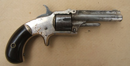 A FINE  UNTOUCHED MARLIN XX STANDARD MODEL POCKET REVOLVER, ca. 1875