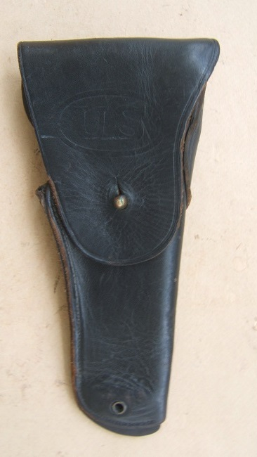 "A VERY FINE KOREAN/VIETNAM WAR ERA ""U.S."" MARKED SERVICE HOLSTER, ca. 1950 view 1"