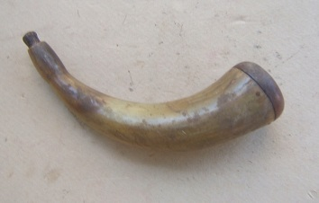 18th century American Powder Horn