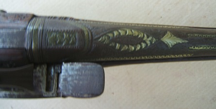 A FINE QUALITY BALKAN (ALBANIAN) MIQUELET HOLSTER PISTOL, ca. 1820-1840 view4