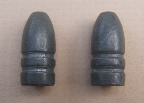 TWO (2) AMERICAN INDIAN WAR PERIOD .45/70 Cal. BULLETS, ca. 1880s view1