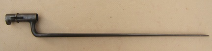 A GOOD US MARKED MDL. 1873 TRAPDOOR SPRINGFIELD BAYONET, ca. 1870s view 1