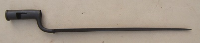 A VERY GOOD/FINE AMERICAN REVOLUTIONARY WAR PERIOD AMERICAN MADE FUSIL BAYONET, ca. 1770s view 1