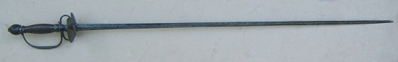 A VERY GOOD REVOLUTIONARY WAR PERIOD (FRENCH?) STEEL HILT SMALLSWORD, ca. 1770 view 1
