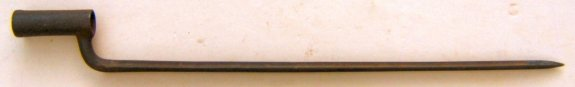 AMERICAN CIVIL WAR AUSTRIAN LORENZ RIFLE BAYONET, ca. 1861 view 1