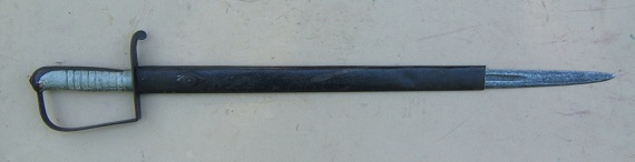 A US MODEL 1818 N. STARR CAVALRY SABER, CA. 1820 view 2