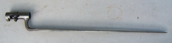 AN EXCELLENT UNISSUED US CIVIL WAR MODEL 1858 BAYONET, ca. 1860s view 1